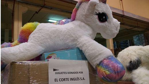 El Corte Inglés entregará 50.000 juguetes a diversas ONG, la mayor donación de su historia
