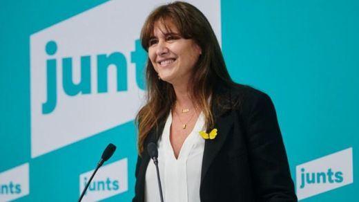 La imputada Laura Borràs, nueva líder de Junts para las elecciones catalanas de febrero
