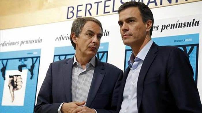 Zapatero pide a González 'apoyo y lealtad al Gobierno' de Sánchez tras la crisis por el acercamiento de Bildu