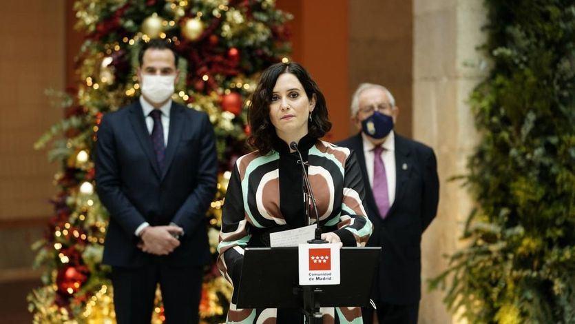 Ayuso: 'Los catalanes pagan 34 'zendales' al año en impuestos a cargo de los independentistas'