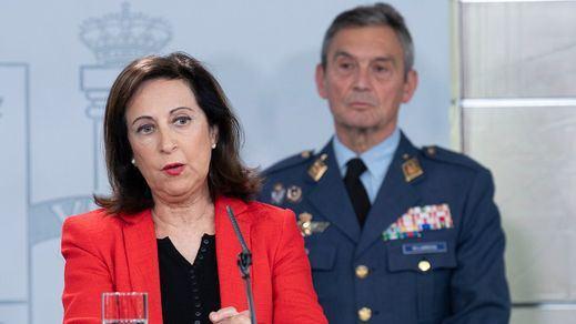 Defensa lleva a la Fiscalía el chat de los militares que hablaron de dar un golpe de Estado