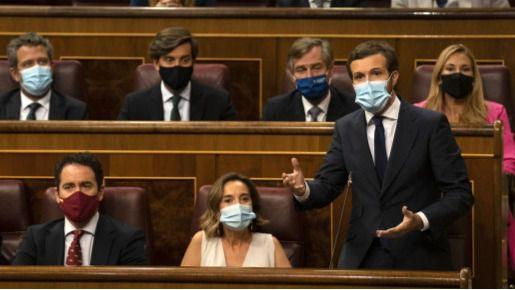 El PP proclama que 'con la aprobación de los Presupuestos se consuma la gran traición de Sánchez a los españoles'