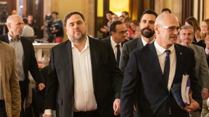 Los partidos e instituciones catalanes piden una ley de amnistía para pasar página al procés