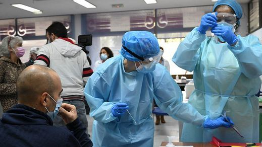 La incidencia del coronavirus sigue aumentando en la antesala de la Navidad