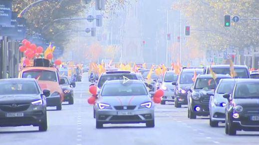 Nuevas protestas por la Ley Celaá llenan de coches varias ciudades