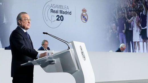 Florentino Pérez la lía con la Superliga y las retransmisiones 'antimadridistas'