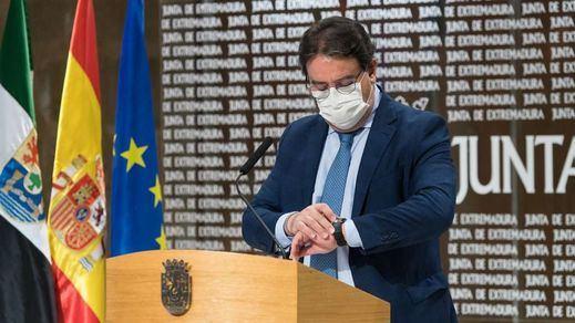 Extremadura rectifica ante los malos datos de contagios y suspende el Plan de Navidad