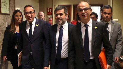 El Tribunal Constitucional respalda la suspensión de Jordi Turull y Josep Rull como diputados