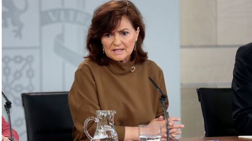 Carmen Calvo zanja el tema sobre Ceuta y Melilla: 'Son españolas', 'no hay tema'