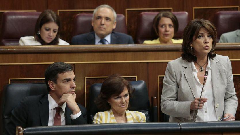 Delgado, cuando era ministra de Justicia en 2019
