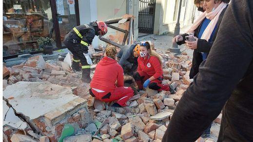 Terremoto de 6,2 grados en Croacia: Varios muertos, heridos y mucho caos