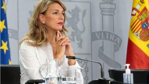 Yolanda Díaz critica que no se suba el sueldo a los más débiles