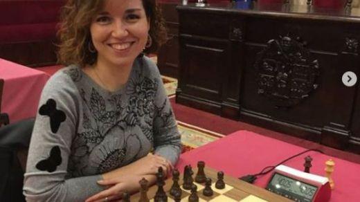 Sabrina Vega, la 'gambito de dama' española