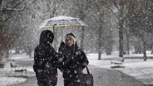El temporal que azota la Península podría provocar una nevada histórica en Madrid