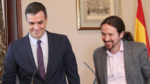 Sánchez e Iglesias pactan no tocar a los ministros de Unidas Podemos mientras crece la presión para que Illa renuncie