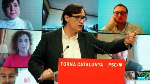 Salvador Illa impulsa al PSC en las encuestas, pero Cataluña seguiría en manos independentistas