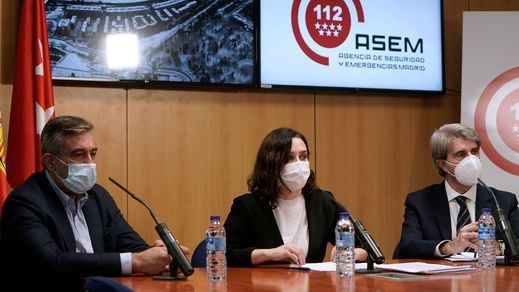 Madrid no recuperará la normalidad hasta finales de esta semana tras el paso de Filomena
