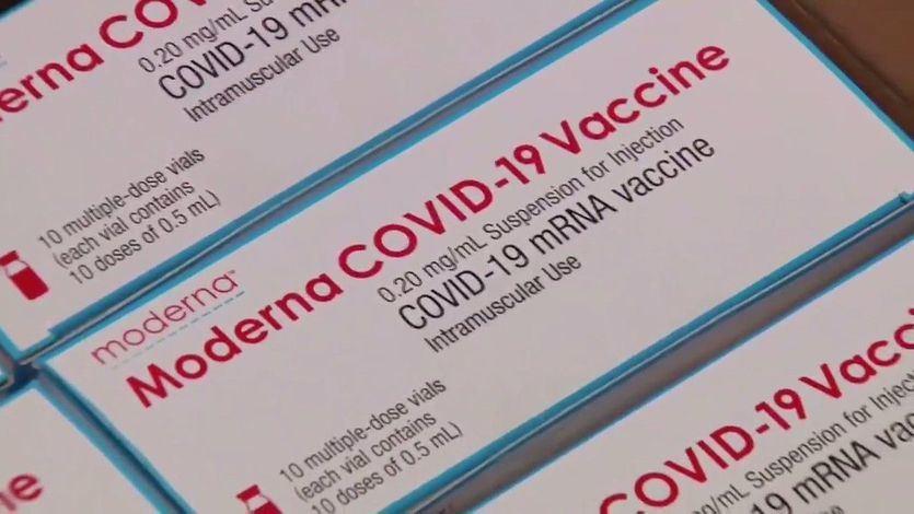 Llegan a España las primeras dosis de la vacuna de Moderna