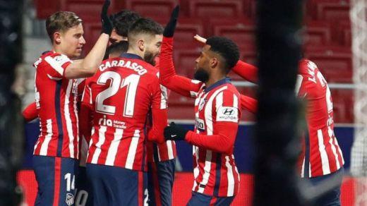 ¿Ha ganado media Liga el Atlético ante el Sevilla?