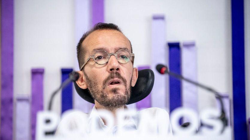 Enfado de Echenique en redes por la 'manipulación' de Vicente Vallés sobre el tema de la luz
