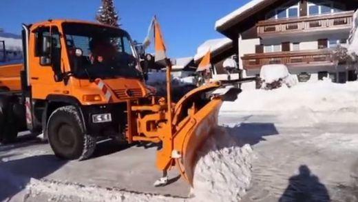 La nieve también pasa factura a otras capitales europeas