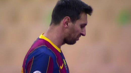 La colleja de Messi, su primera roja con el Barça... y el Athletic campeón de la Supercopa