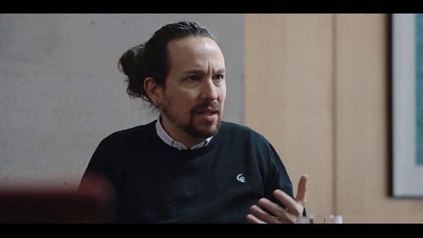 Pablo Iglesias, en la entrevista en 'Salvados'