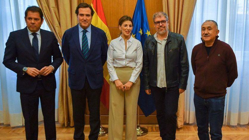 Nuevo acuerdo para prorrogar los ERTE hasta el 31 de mayo