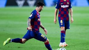 Messi, sancionado con dos partidos tras su expulsión en la final de la Supercopa