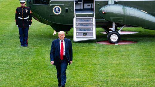 Donald Trump abandona la Casa Blanca: