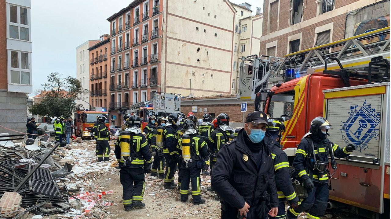 Explosión en edificio genera graves daños en Madrid - Internacional