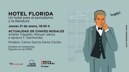 El Corte Inglés cerrará su III edición de 'Hotel Florida' con un homenaje al periodista Chaves Nogales