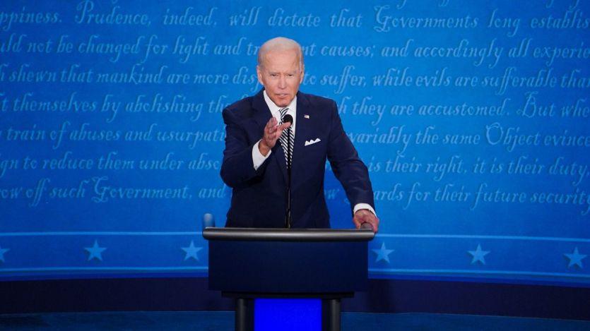 Joe Biden ya es el presidente de EEUU: 'Hoy celebramos el triunfo de la democracia'