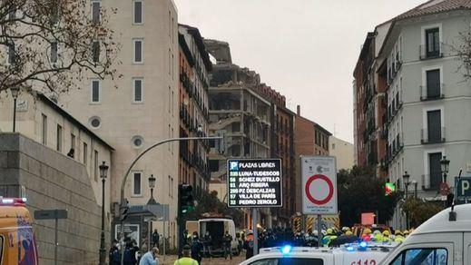 Se confirma un cuarto fallecido en la explosión en el centro de Madrid: un sacerdote