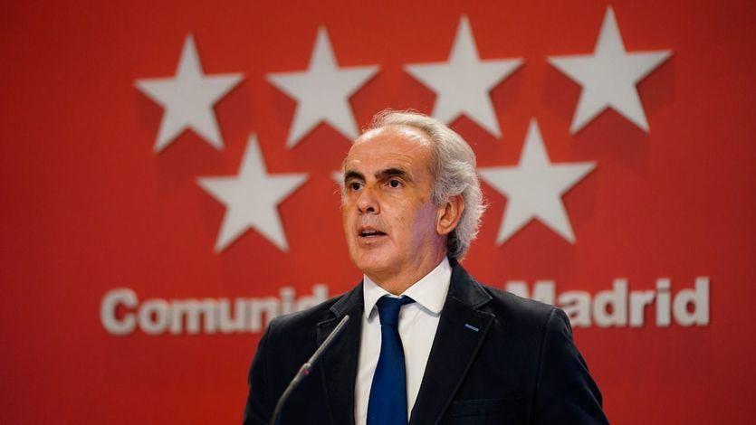 Madrid se queda sin dosis para vacunar a más profesionales sanitarios