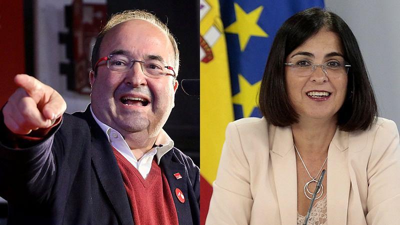 Miquel Iceta para Política Territorial y Carolina Darias para Sanidad: las quinielas más que seguras tras la salida de Illa