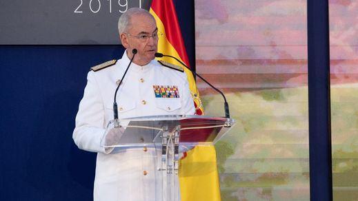 El almirante general Teodoro López Calderón, nuevo Jemad