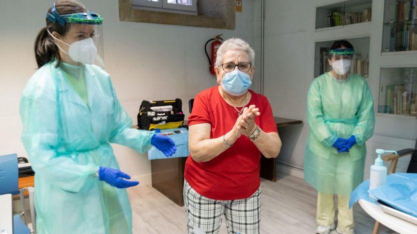 Una vacunación en Galicia
