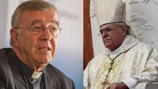 Los obispos de Mallorca y Córdoba, Sebastià Taltavull y Demetrio Fernández, respectivamente