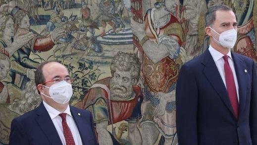 Iceta trabajará por la España 'unida y plural' y comprometido con la Constitución