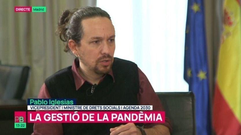 Pablo Iglesias se moja sobre Cataluña: estarán en el próximo Govern y apoyará los indultos a los presos