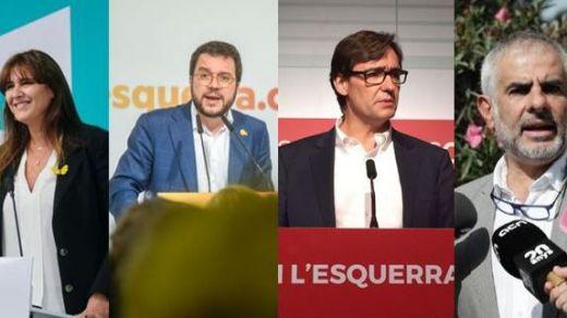 Cruce de reproches y proclamas entre los partidos en la campaña electoral del 14-F