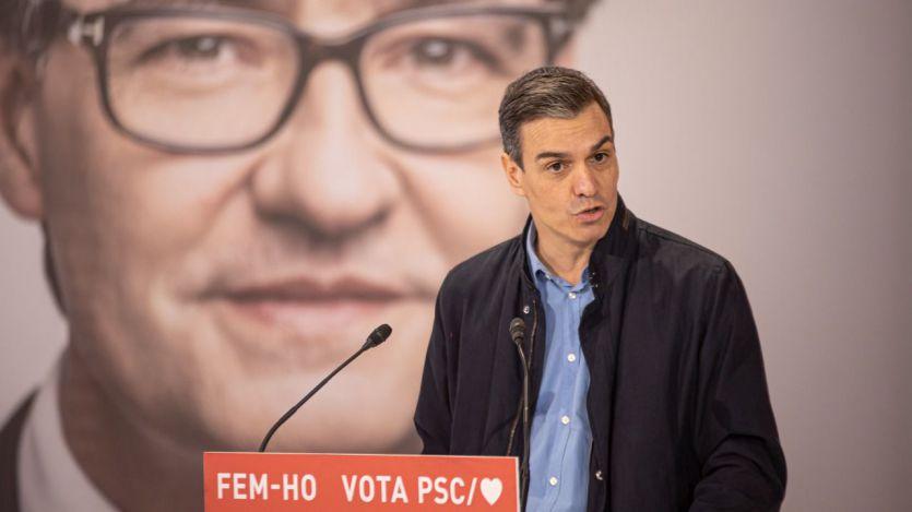 Sánchez, en campaña: 'Cataluña volverá a ser lo que siempre ha sido: un orgullo para su país'