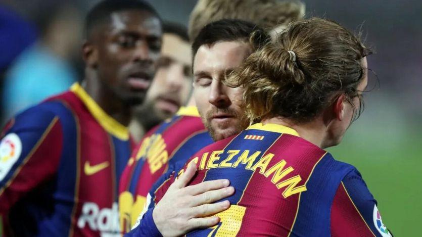 El Barça de Messi se venga del Athletic y ya supera al Madrid en la tabla (2-1)