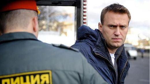 El opositor ruso Alexéi Navalni, condenado a 3 años y medio de prisión