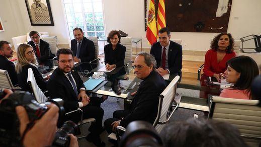 El Congreso da vía libre a la Mesa de Diálogo catalana pese a la oposición de las derechas