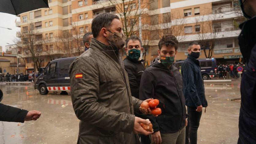 Vox denuncia nuevos ataques y 'lanzamientos de piedras' en sus mítines en Cataluña