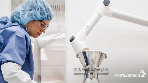 AstraZeneca está trabajando ya en adaptar su vacuna a la variante sudafricana del coronavirus