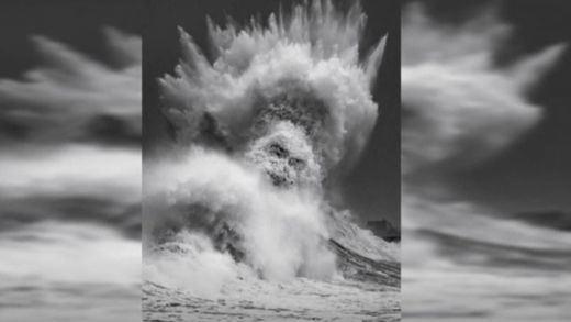 ¿La primera fotografía de Poseidón?: la curiosa foto viral que recorre el mundo