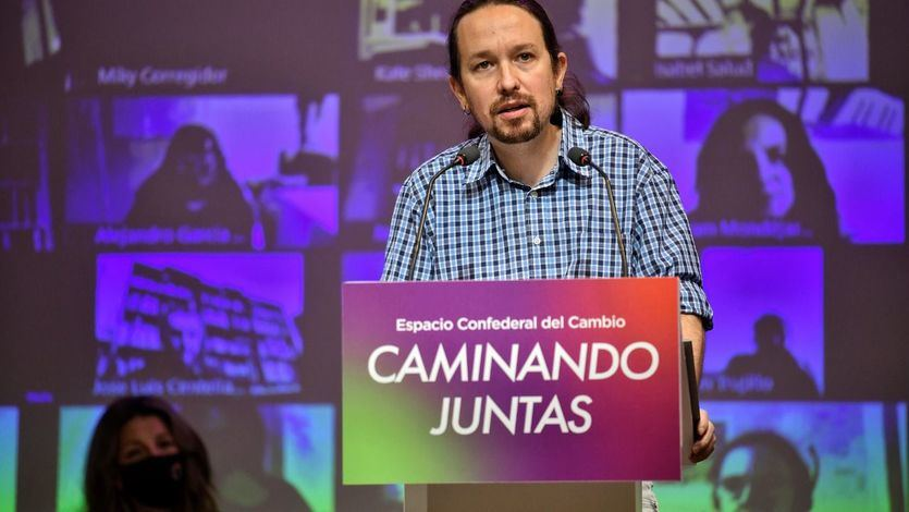 Polémico vídeo de Podemos para insistir en la idea de que en España 'no hay normalidad democrática'